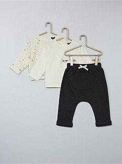 5a6a0cea1 Kiabi Camiseta De Conjunto Meses Niña Pantalón 36 0 Sudadera gcnWWO8vx