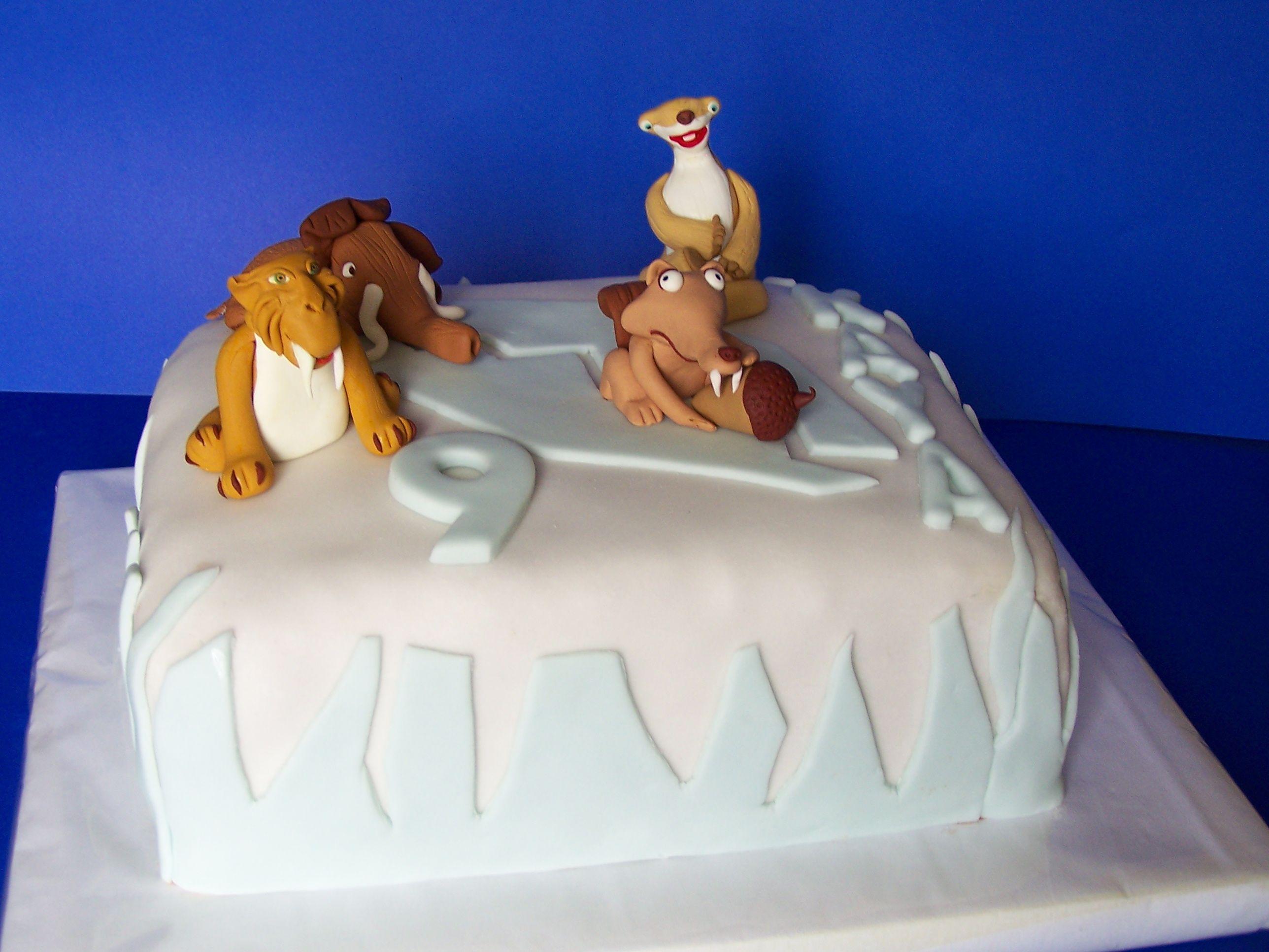 ice age cake with images  ice age cake cake ice age