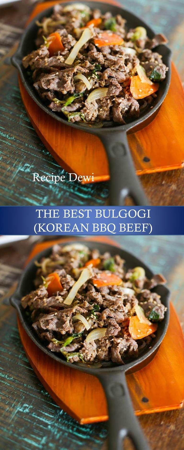 700 Reviews : Recipe Dewi ---> BULGOGI KOREAN BBQ BEEF # ...