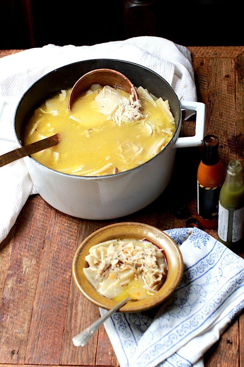Homemade Chicken And Buttermilk Dumplings Recipe Recipes Dumplings Food