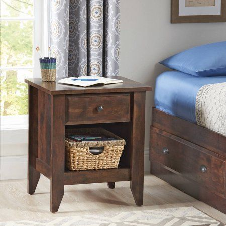 2fd016313d66898fd9d060ef98081c3e - Better Homes & Gardens Leighton Night Stand Rustic Cherry Finish