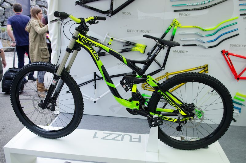 5cba65ce2c6 NS Bikes' New Downhill and Enduro Rigs - Eurobike 2013 | Bicycle ...