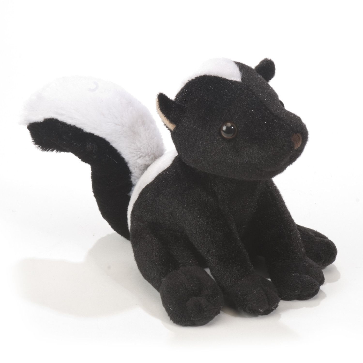 "Plush 6"" Sitting Skunk"