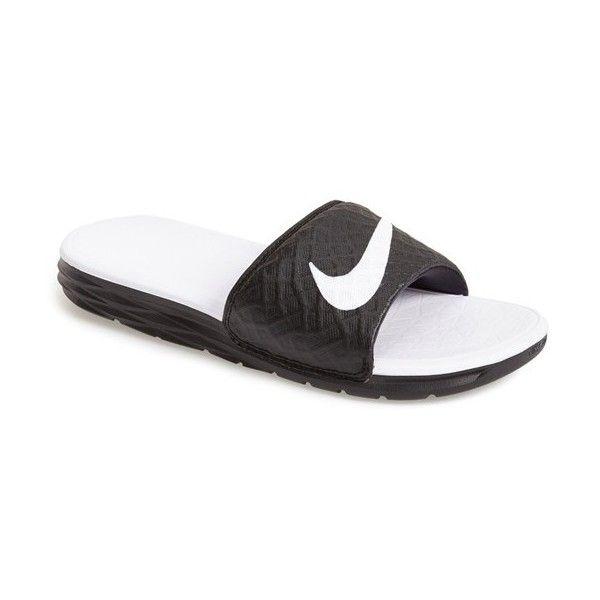 206b24713 Women s Nike  Benassi Solarsoft 2  Slide Sandal (625 MXN) ❤ liked ...