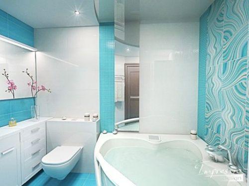Фото ванны в бирюзовом цвете фото