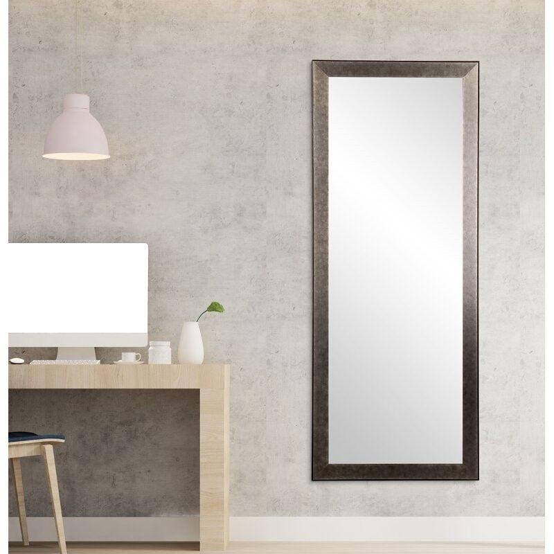 Halie Modern Industrial Full Length Mirror in 2020