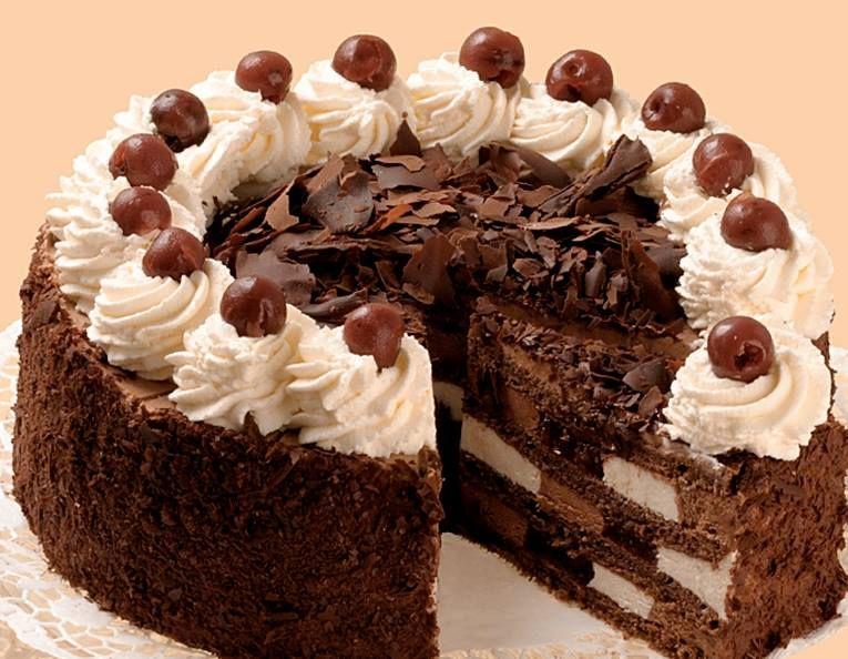 Szamos fekete erdo torta