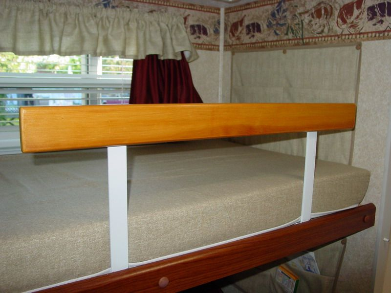Another Custom Bunk Bed Safety Rail View 3 Modmyrv