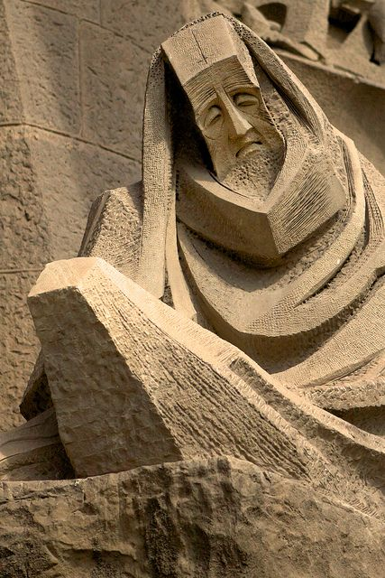 Sagrada Familia - Passion Facade Detail