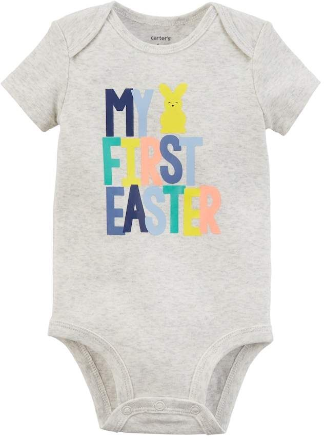 Kohls Baby Clothes Extraordinary Carter's Baby Carter's My First Easter Bodysuit Commissionlink