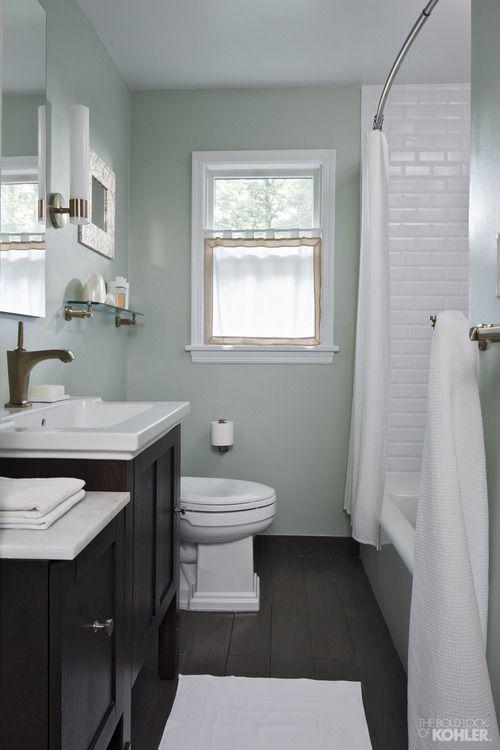 Bathroom Paint Colors Seafoam Green Bathroomideas In 2020 Bathroom Remodel Pictures Small Bathroom Remodel Green Bathroom