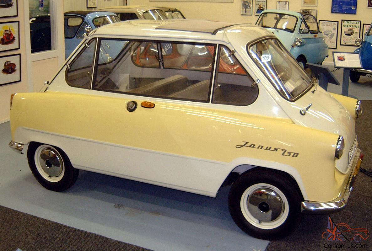 Zundapp Janus This Is A German Micro Car Manufacturing Company
