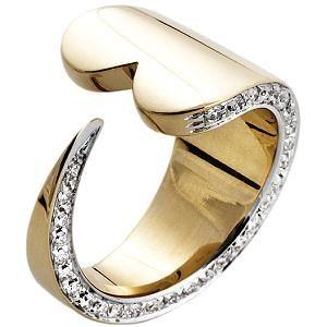 Pianegonda Gold Lovesick Wrap Diamond Ring