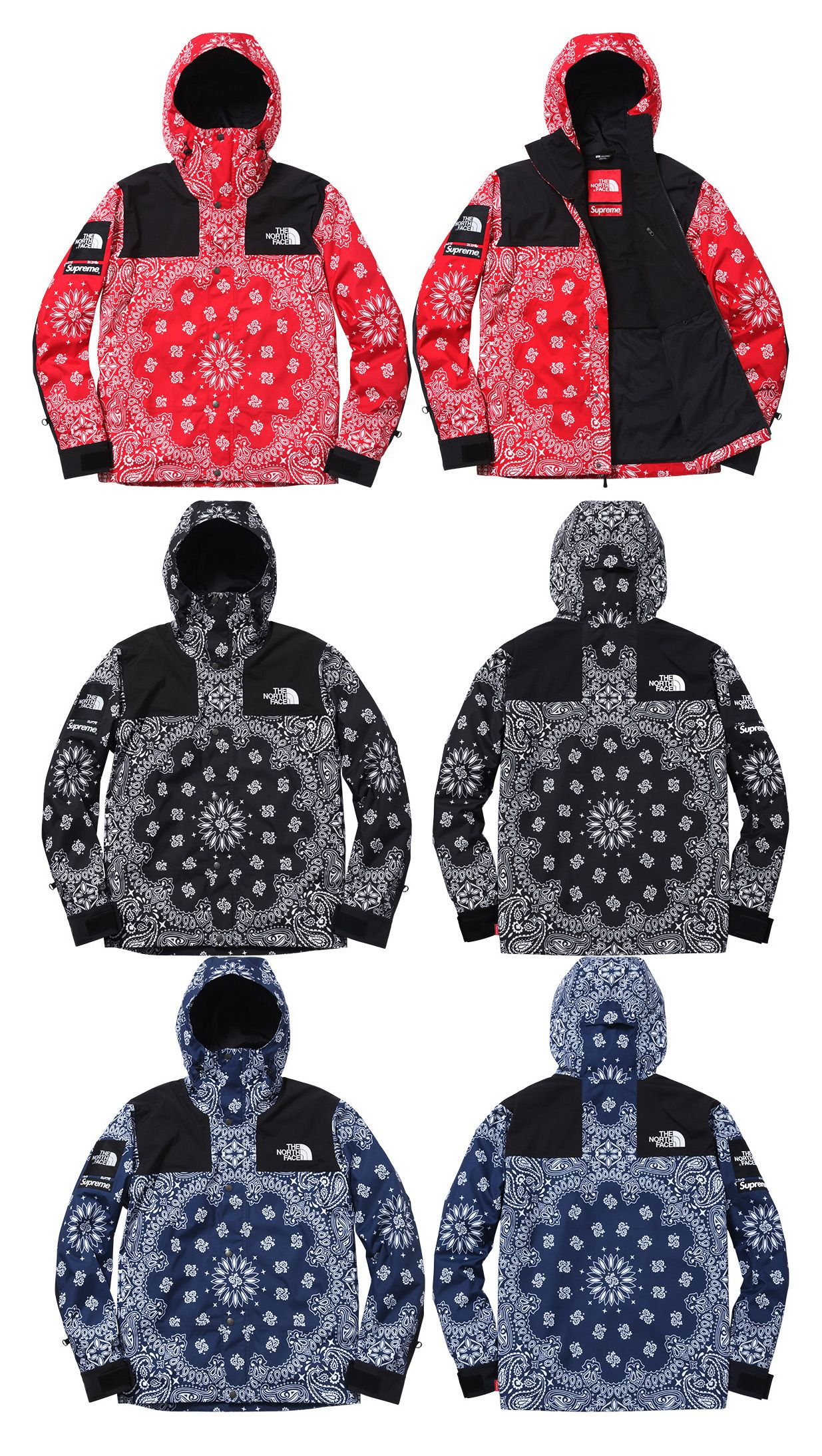 Supreme x The North Face Autumn Winter 2014