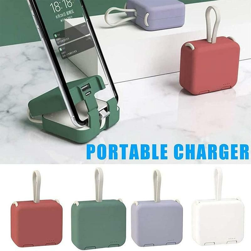 Portable Power Bank Phone Holder gifts presents
