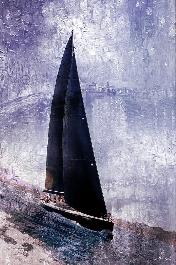 Yachts, Oil Painting Brushes Photograph by Jean Francois Gil