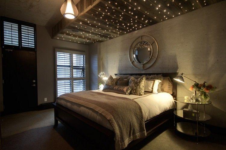 Sternenhimmel im Schlafzimmer gestalten | Einrichtung | Pinterest ...