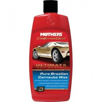Mothers California Gold Pure Brazilian Carnauba Wax 473ml Supercheap Auto Car Wax Pure Products California Gold