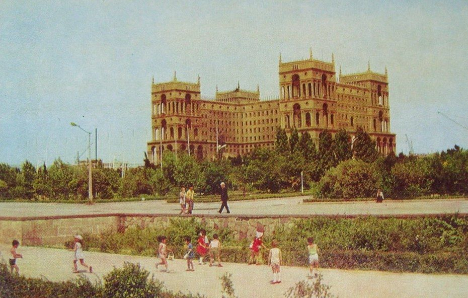 Baku 1974 God Baku City Countries Of The World Back In The Ussr