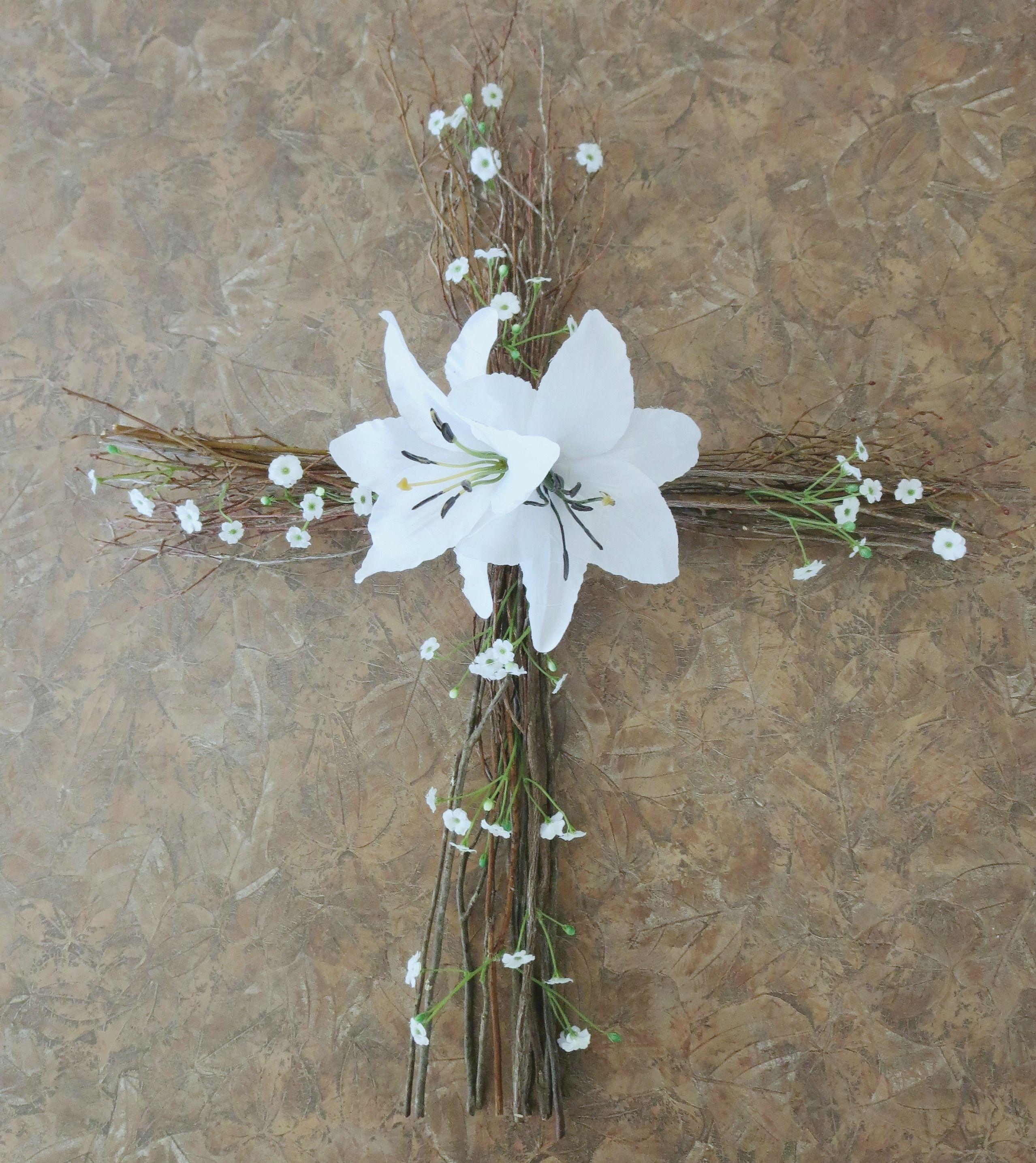 Diy easter cross wreath woven beautiful cross wreath