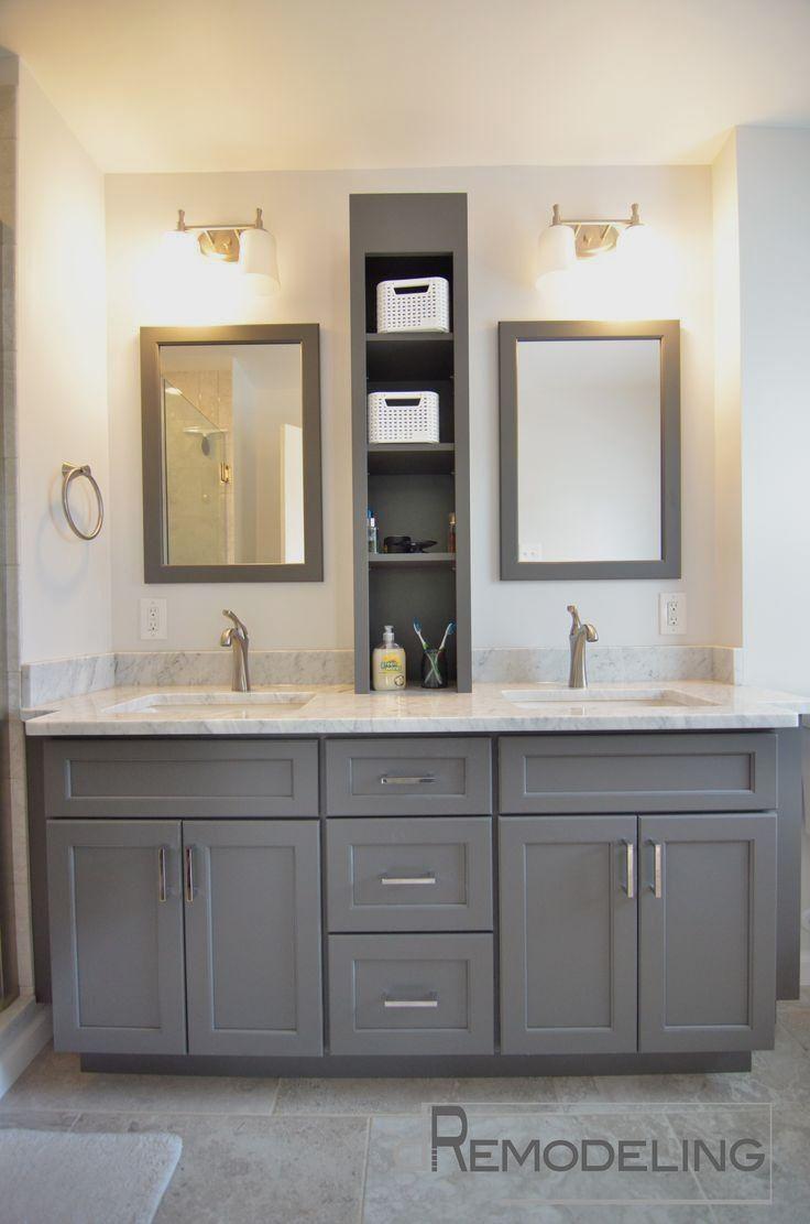 DIY Bathroom Cabinet Makeover   Beautiful bathroom cabinets ...