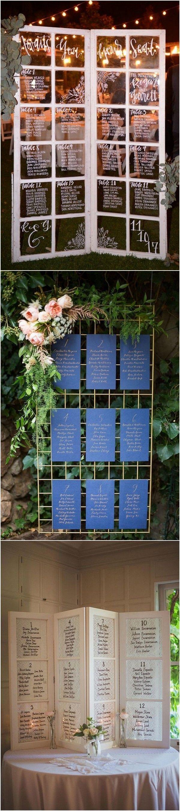 Sa wedding decor images  Trending Wedding Reception Seating Chart Ideas weddingideas