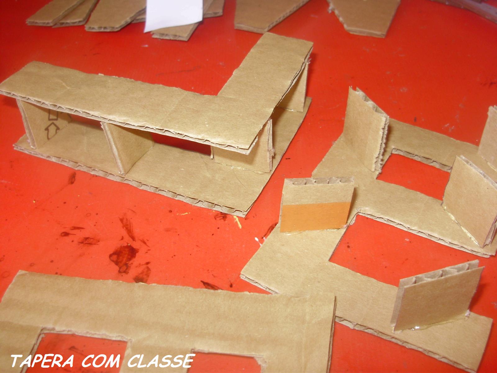 tapera com classe letras decorativas de papelo