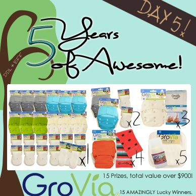 MASSIVE @GroVia giveaway! (Over $900 in prizes!)