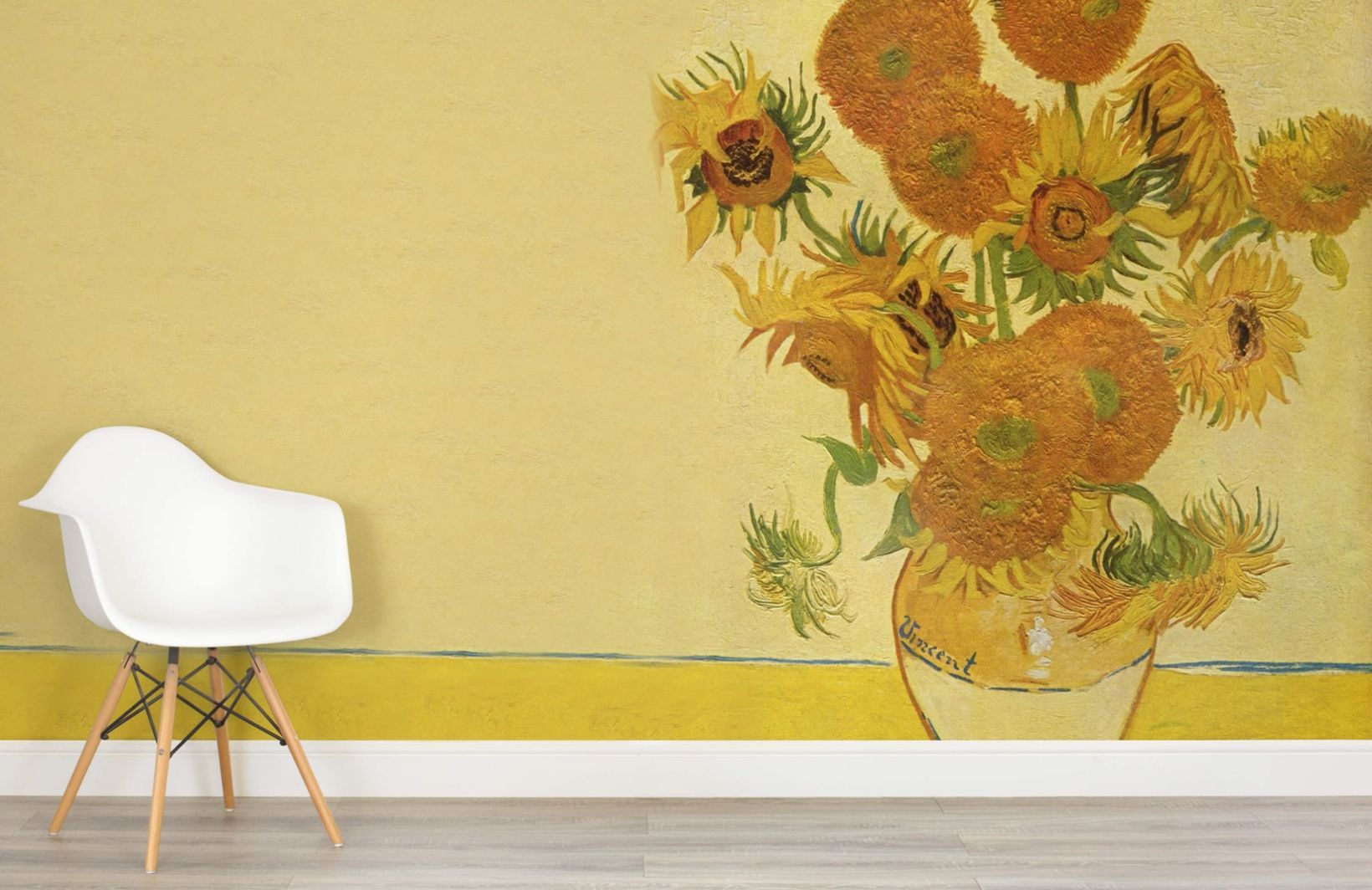 Sunflowers by Van Gogh Art Wall Mural | MuralsWallpaper.co.uk | Van ...