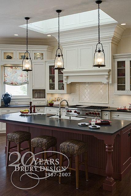 Traditional Kitchen Design by Drury Design Kitchen | Elegant ...