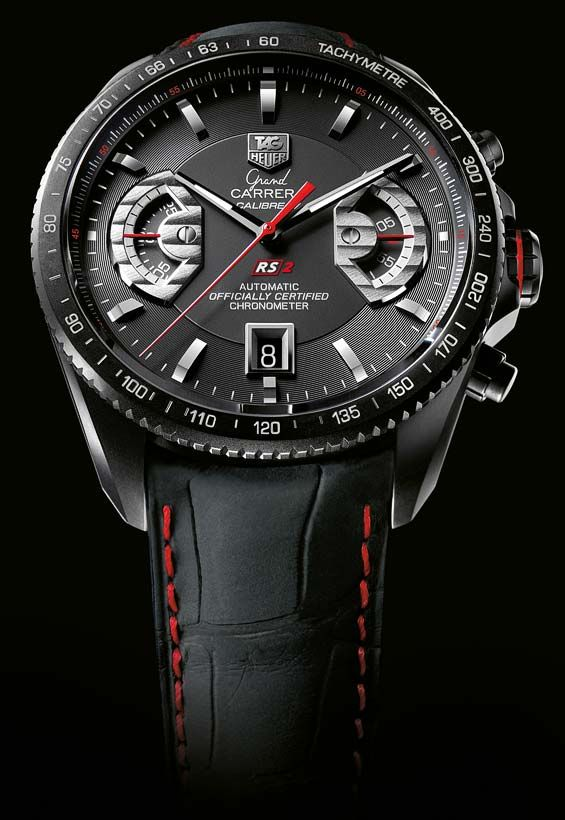 ff460ffd2a3 Tag Heuer, Grand Carrera, Titanium Calibre 17 RS2, fantastisk :) 55.400:-
