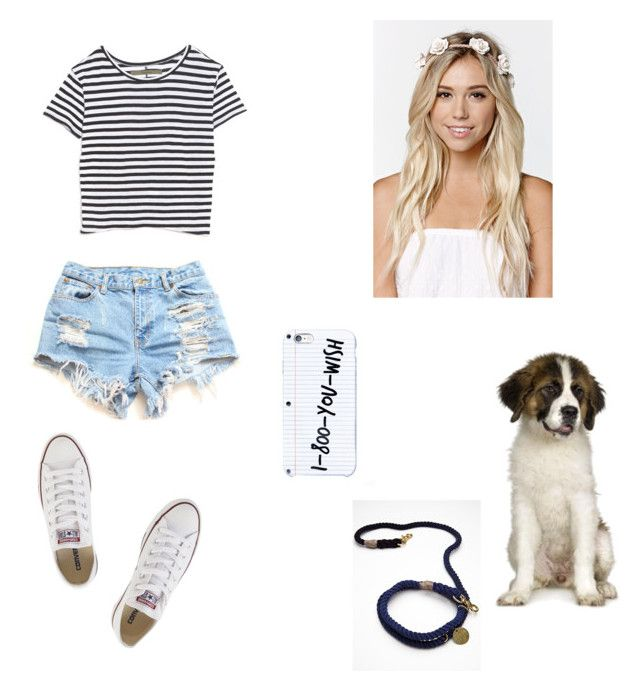 """""""Untitled #85"""" by jennifersantanalopez ❤ liked on Polyvore featuring Enza Costa, Converse, With Love From CA, Free People and Bernards"""