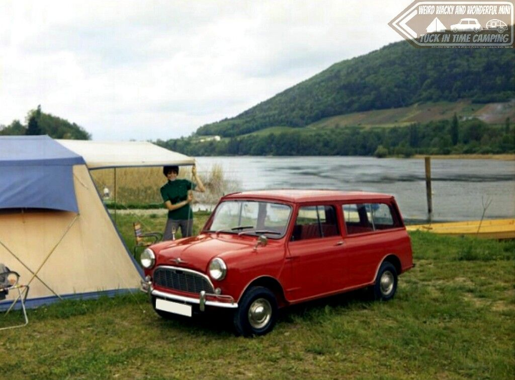 Tuck In Time Miniacs & it's a wicked yesteryear camping shot closing the show tonight, personally the scene needs a couple of fishing rods to finish it off perfectly I reckon... lol Goodnight folks