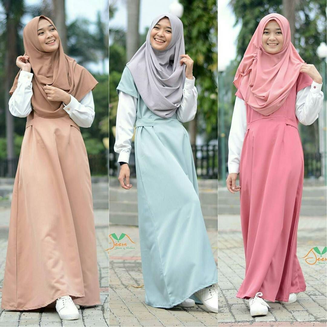 Jeeva Muslimah Setitik Peluh Tubuhmu Yang Berkeringat Karena Memakai Balutan Jilbab Maka Menjadi Penggug Model Pakaian Hijab Pakaian Jelita Model Pakaian