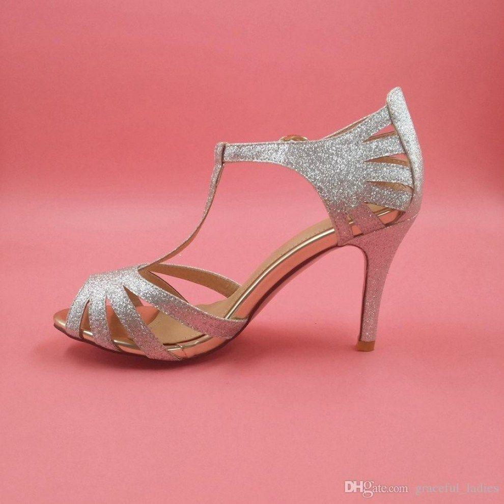 30 Beautiful Silver Kitten Heel Shoes Wedding