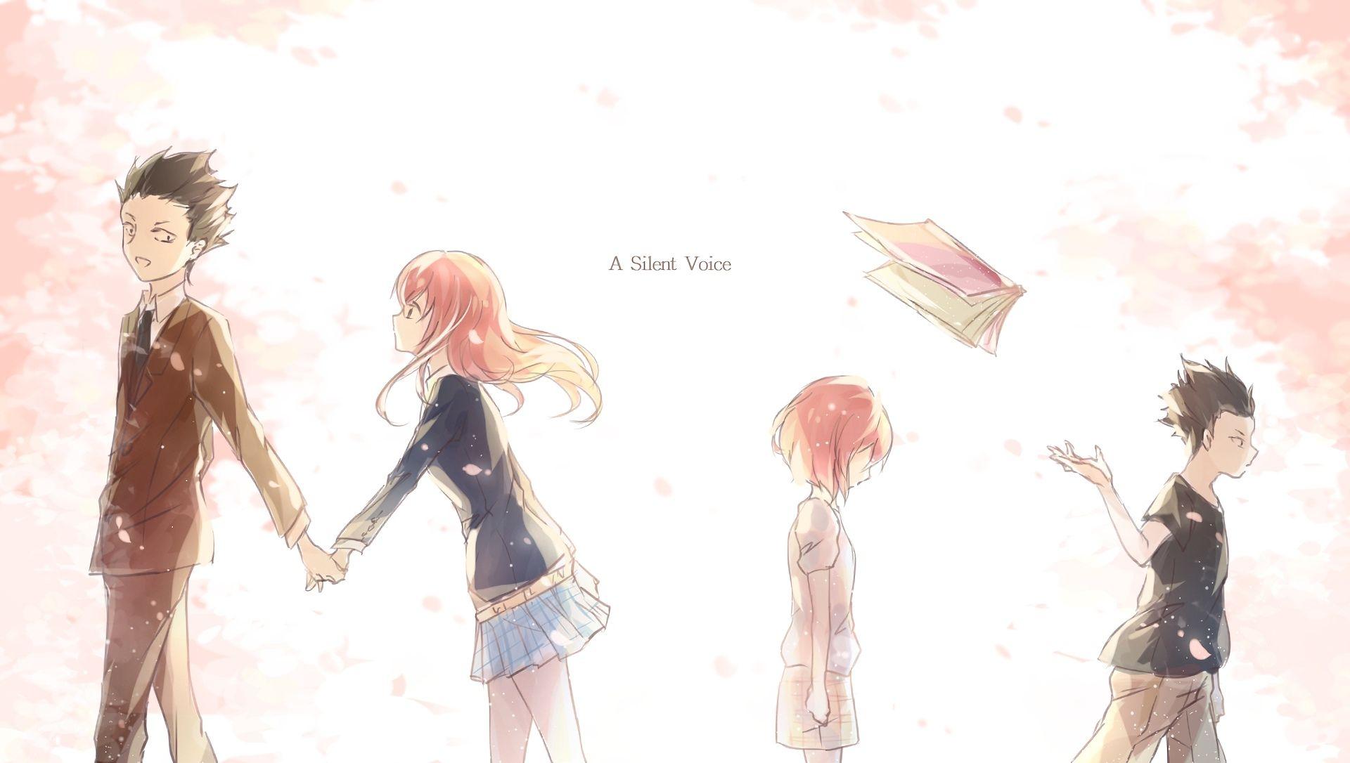 Anime Koe No Katachi Wallpaper Filmes de anime, Anime
