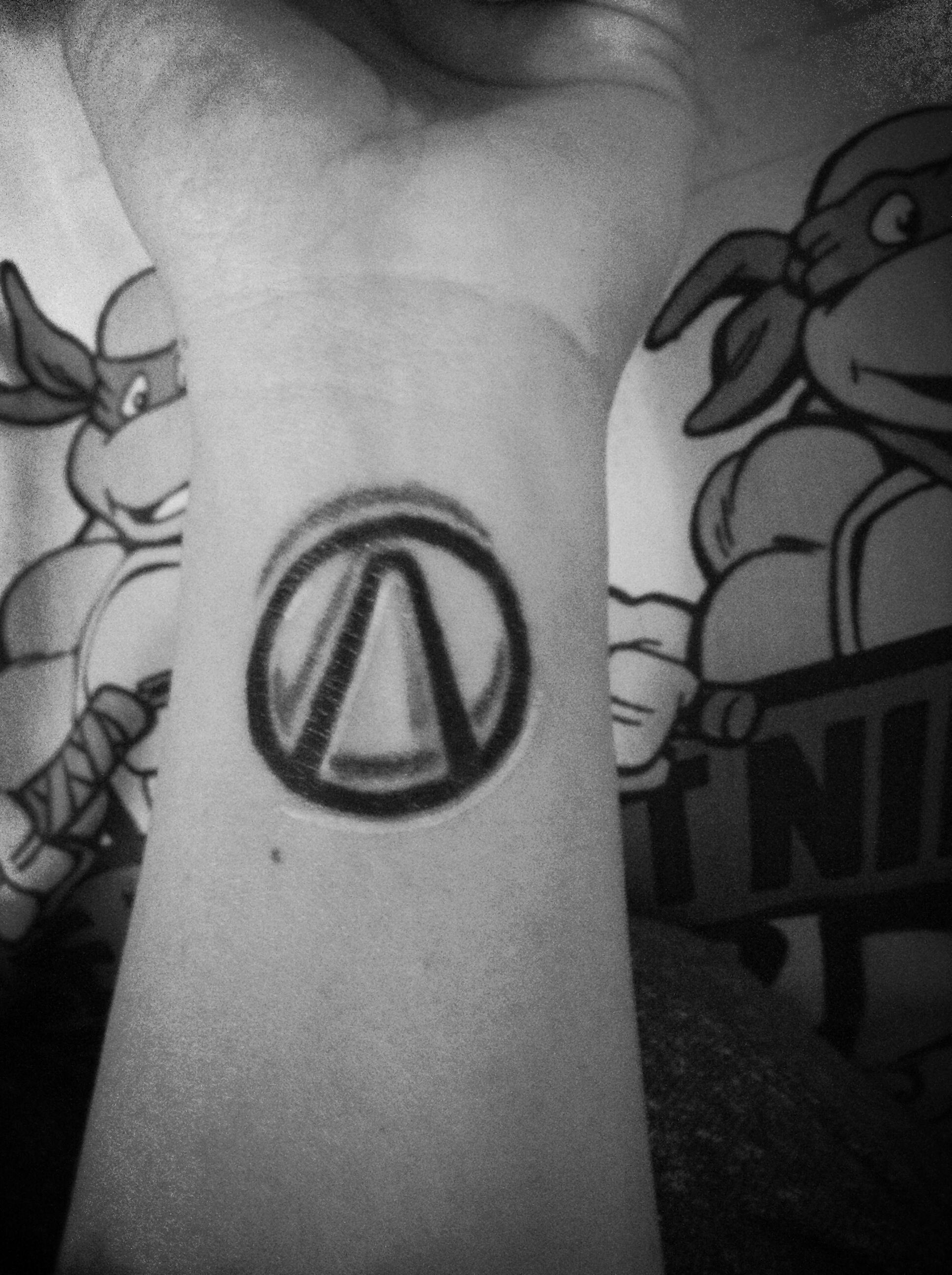 The vault symbol ) Cool tattoos, Tattoos