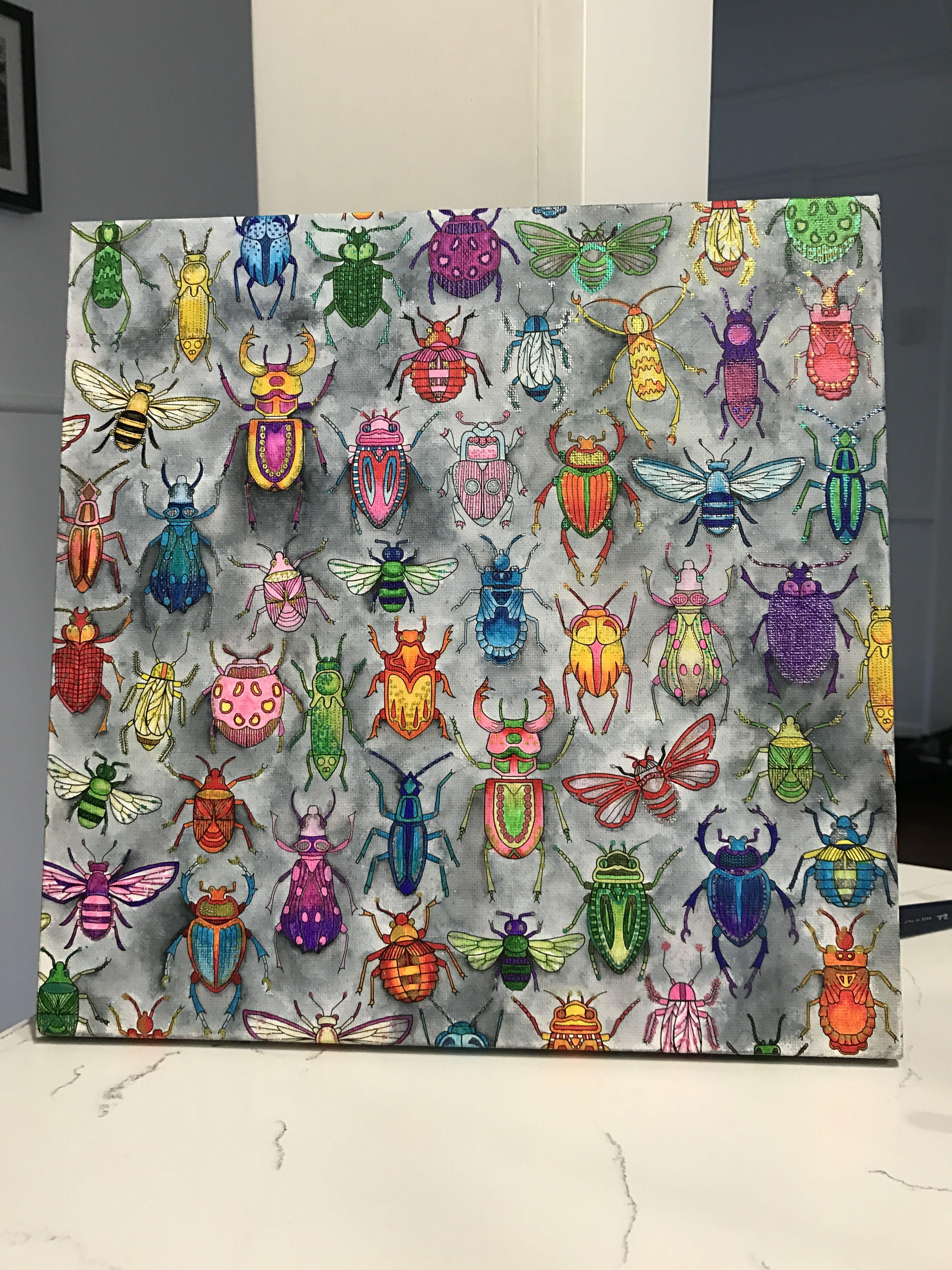johanna basford bugs by molly my 10 year daughter molly art