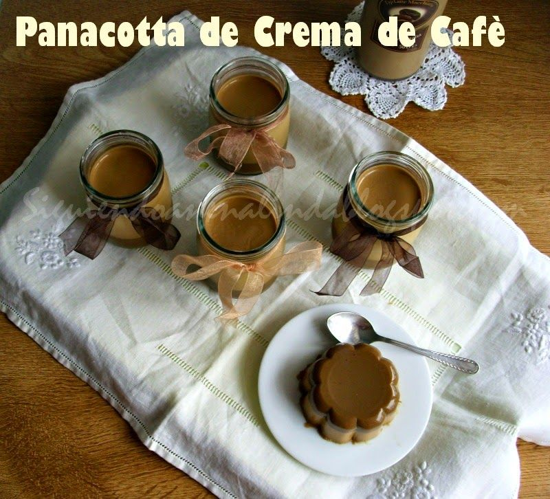 PANACOTTA DE CREMA DE CSFE.-