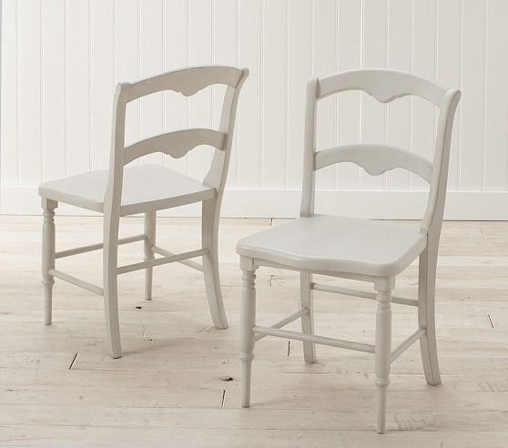 Finley Play Chairs | White leather chair, Play table ...