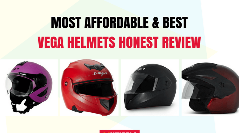 Most Affordable & Best Vega Helmets India Honest Review