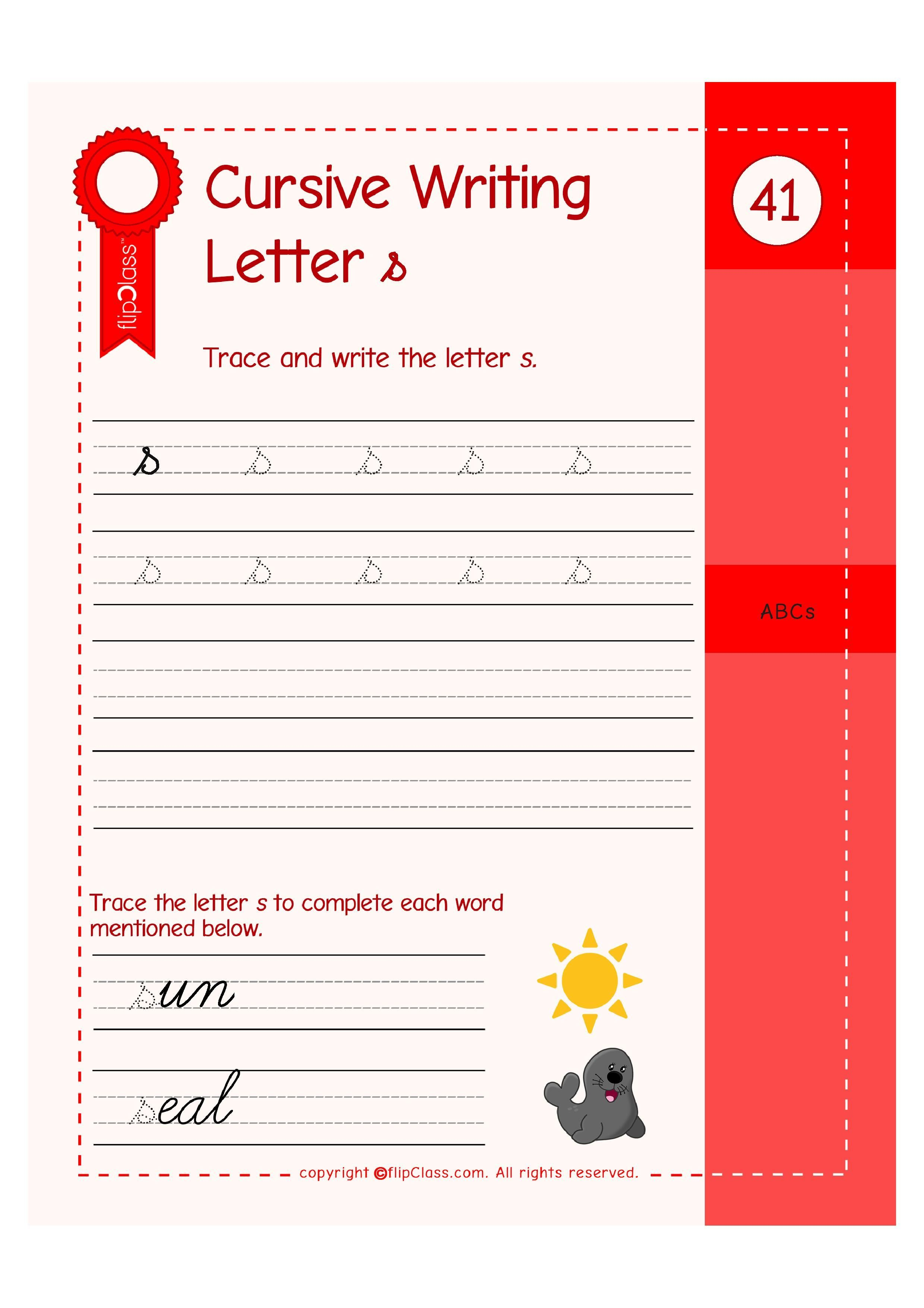 Ukg Worksheets Flipclass Genius Kids Workbooks These Colourful And Illustrative Worksheets Help Your Child Learn Learn To Write Cursive Learning Cursive Math
