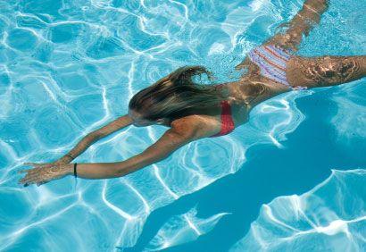 Trois exercices à faire dans la piscine (avec images