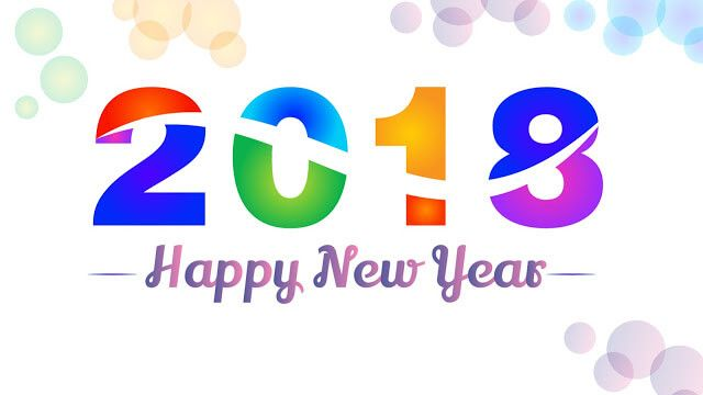 New Year 2018 Wallpaper Colorful Hd  Happy New Year 2019