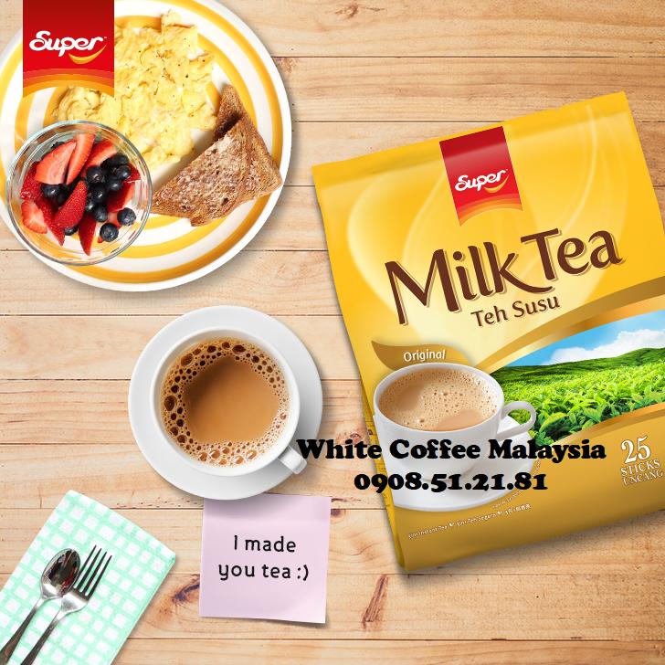 Super MilkTea TehSusu Original tràsữa TeaSusu 25gói