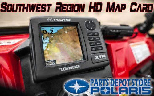 NEW-PURE-POLARIS-RANGER-LOWRANCE-XTR-GPS-SOUTHWEST-REGION-HD-MAP-CARD-2879424