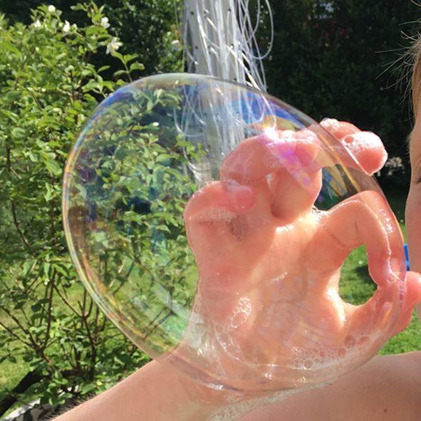 ENDLICH! Das perfekte Rezept für Riesenseifenblase
