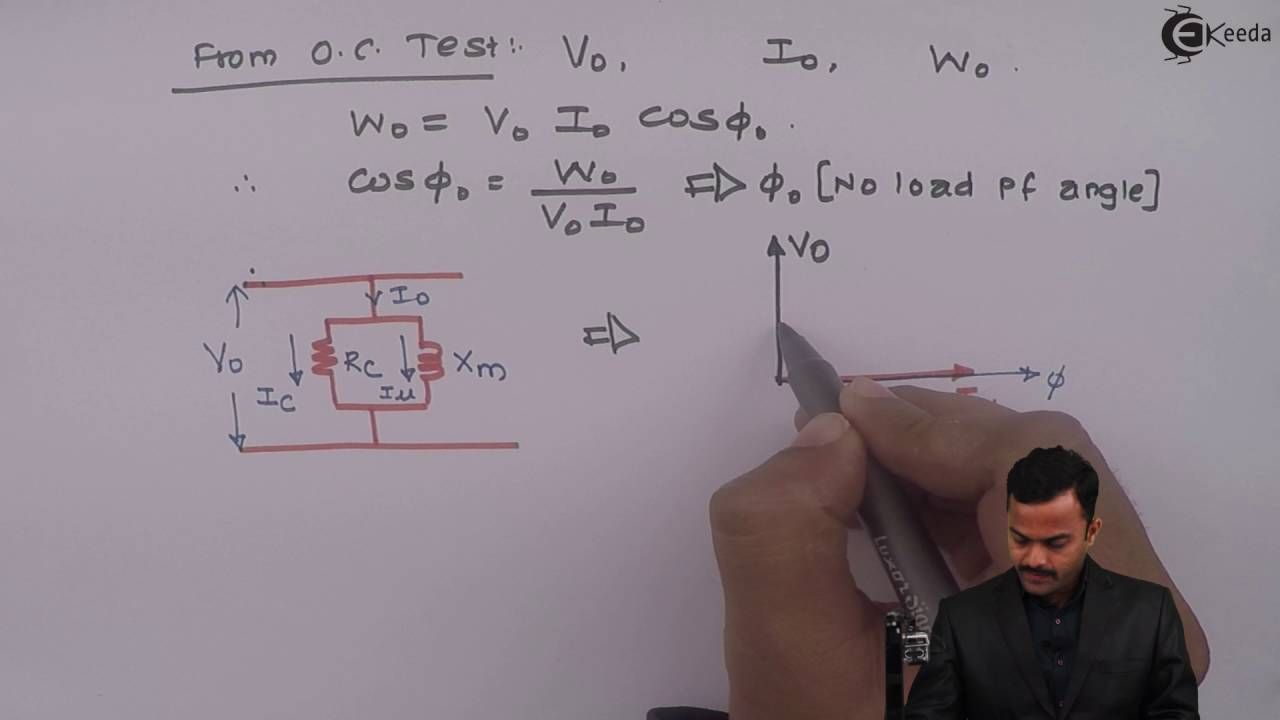 Learn Single Phase Transformer Online Open Short Circuit Test On For Tra