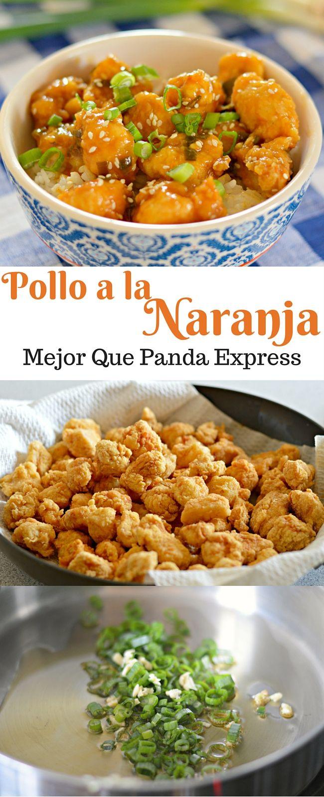 Pollo a la naranja mejor sabor que el de panda express recipe si te gusta comida china entonces te encantara este pollo a la naranja que tiene gail s recipesmeat recipesdinner forumfinder Image collections
