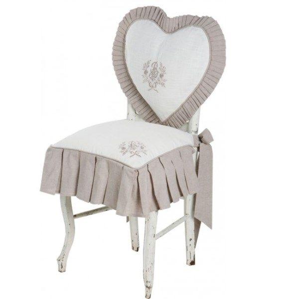 Galette de chaise Marquise Alizéa